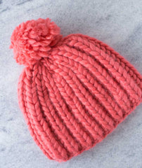 Fisherman's Rib Beanie Super Chunky: Mrs Moon Plump