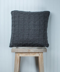 Geometric Pillow Cover Using Berroco Ultra Wool