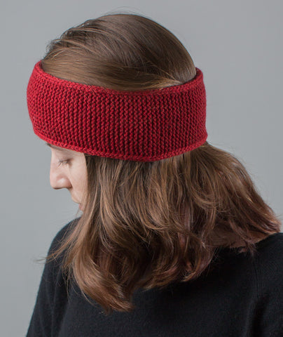 Very Warm Headband Using Blue Sky Fibers Woolstok