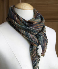 Linen Bias Scarf Project - Claudia Hand Painted Version