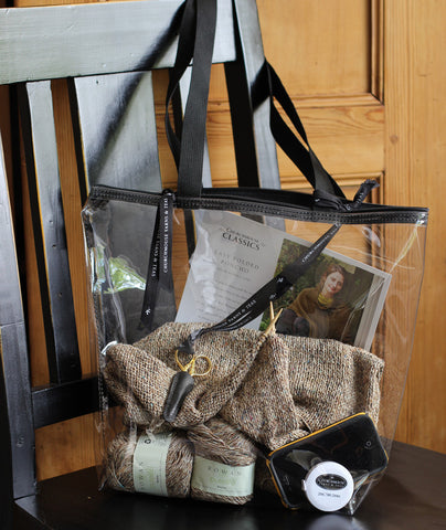 Clear Zipper Totes