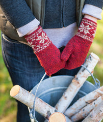 Colorwork Cuffs & Mittens Pattern