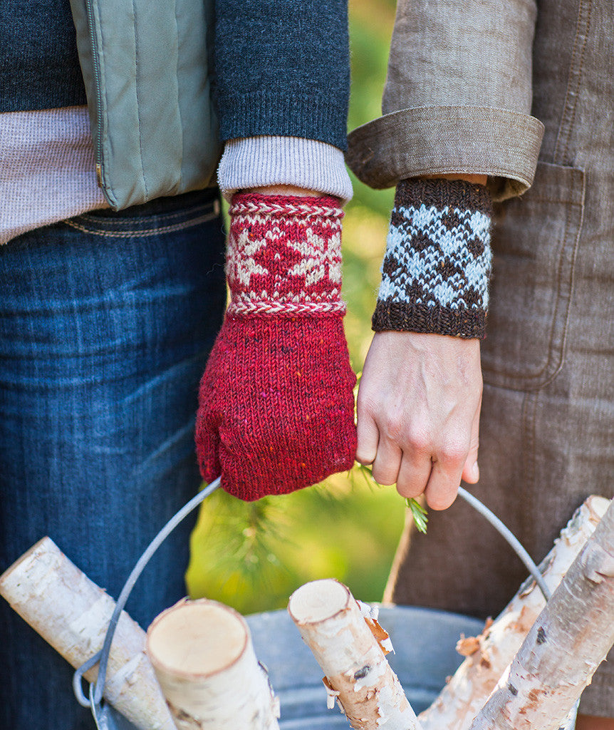 Colorwork Cuffs & Mittens Pattern – Churchmouse Yarns & Teas