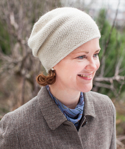 Flora's Cap Using Shibui Pebble/Silk Cloud