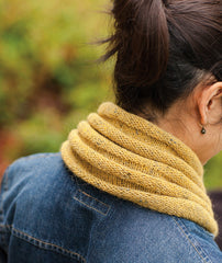 Welted Cowl & Infinity Loop Pattern