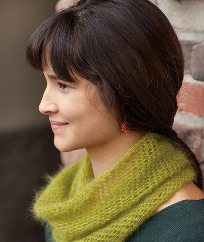 Crocheted Moebius Cowl Pattern