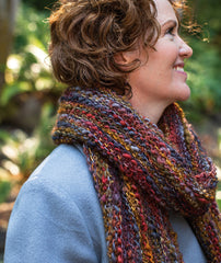 Magic Three-Yarn Wrap & Throw Project
