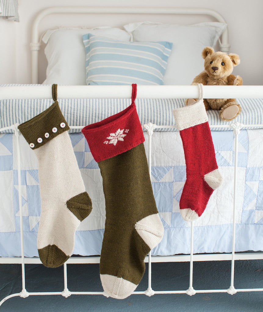 Basic Christmas Stockings Pattern – Churchmouse Yarns & Teas