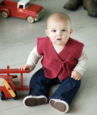 Easy Peasy Baby Jacket (in 2 gauges) Pattern