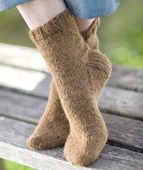 Basic Sock (in 2 gauges) Pattern