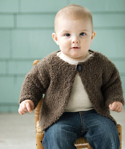 Blossom Baby Sweater Pattern