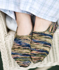 Turkish Bed Socks Using Koigu KPM & KPPPM