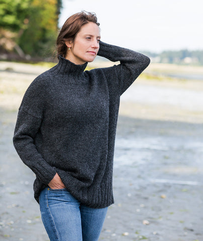 Better-Than-Basic Pullover - Ultra Alpaca Version