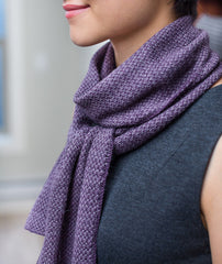 Two-Tone Twill Scarf Pattern