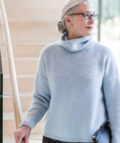 Better-Than-Basic Pullover Using Rowan Kid Classic