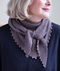 Pinking Shears Scarf Pattern