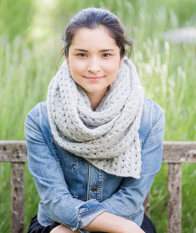 Ribbed Lace Scarf Pattern