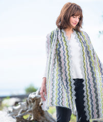 Vintage Crocheted Wrap & Scarf Pattern