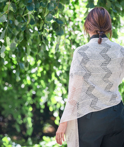Chevron Lace Wrap & Scarf Pattern