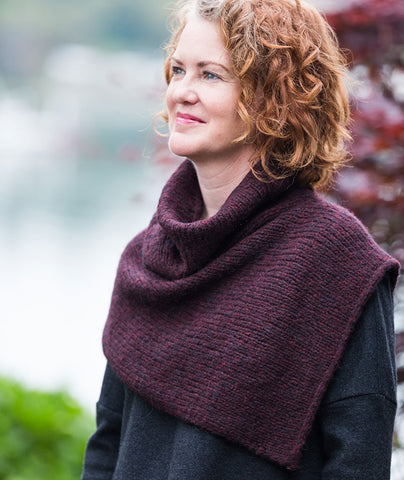 Two-Point Cowl Pattern
