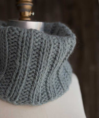 Last-Minute Cowl Project Using Rowan Cocoon