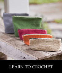 Class: Learn to Crochet - Pouches