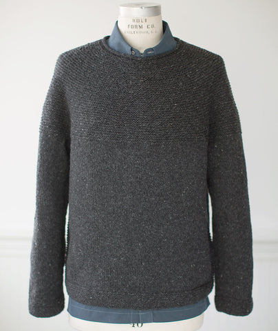 Cobblestone Pullover Using Brooklyn Tweed Shelter