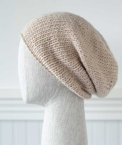 Minimalist Hat Using Rowan Cocoon