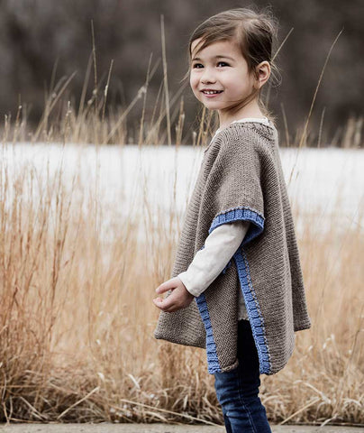 Puddle Jumper Poncho Using Spud & Chloe Sweater