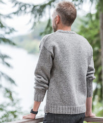 Saddle-Shoulder Men's Pullover Pattern GIFT