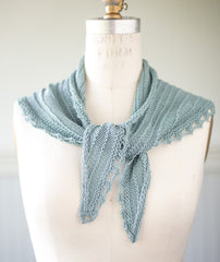 Seashore Scarf Using Erika Knight Studio Linen