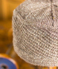Seaworthy Gansey Cap Project - Regia 4-ply Version