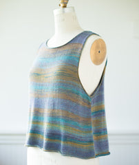 Sleeveless Slipover Using Berroco Medina