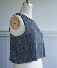 Sleeveless Slipover Using Isager Palet