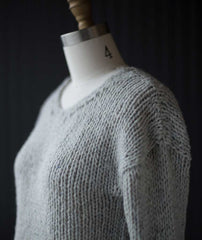 Slouchy Pullover Using Brooklyn Tweed Quarry