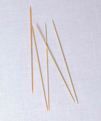 Addi Natura Bamboo Double Point Needles - 8""