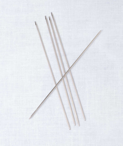 Addi Steel Double Point Needles