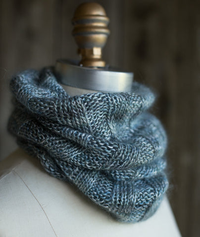 Annabella's Cowl Using Alchemy Haiku/Silk Purse
