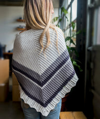 Atmen Shawl Using Brooklyn Tweed Arbor