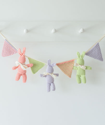 Baby Bunny and Bunting Using Big Bad Wool Weepaca