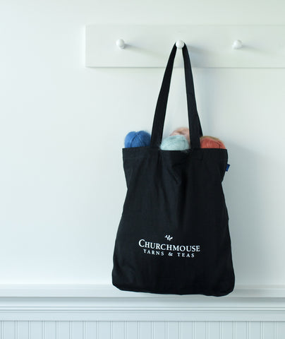 Churchmouse Yarns & Teas Tote