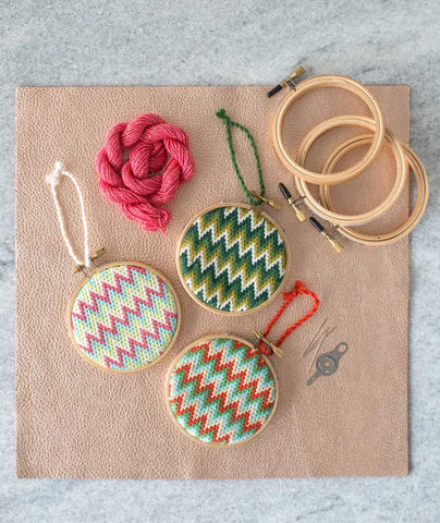 Bargello Ornament Kits