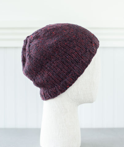 Basic Beanie Using Brooklyn Tweed Quarry