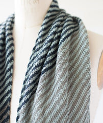 Bias 'Before & After' Scarf  Using Isager Bomulin
