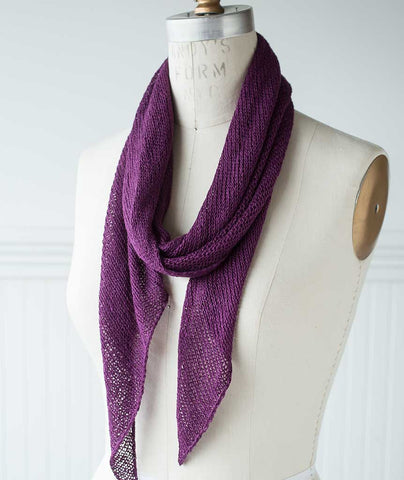 Bias 'Before & After' Scarf Using Shibui Reed