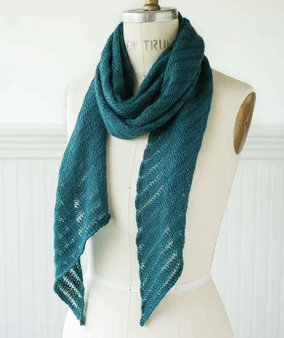 Bias 'Before & After' Scarf Using Shibui Staccato & Silk Cloud