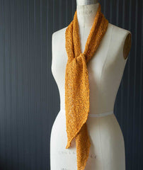 Bias 'Before & After' Scarf Using Tahki Ripple