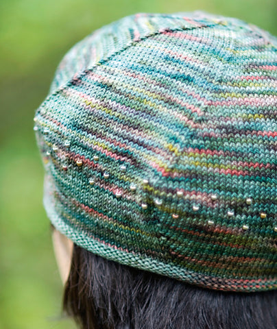 Koigu Beaded Beret Pattern Churchmouse Yarns Teas