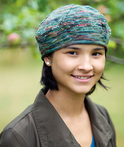 Koigu Beaded Beret Pattern