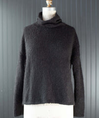 Better-Than-Basic Pullover Using Blue Sky Fibers Brushed Suri
